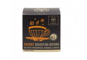 Apivita Organic Herbal Tea Energy,10 Φακελάκια x 1,5gr
