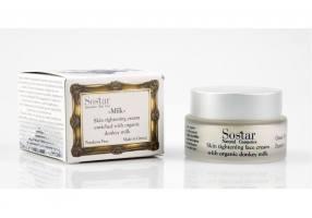 SOSTAR Skin Tightening Cream with donkey milk 50ml
