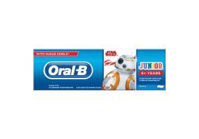 Oral-B Junior Disney Star Wars Οδοντόκρεμα με Γεύση Μέντας 6+ Ετών & Πάνω 75ml