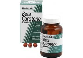 HealthAid Beta-carotene Natural 15mg Capsules 30's