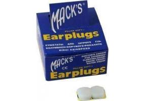 MACK'S EARPLUGS - Silicone earplugs 2pcs