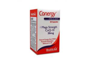 Health Aid Conergy Q10 30Mg Capsules 30'S