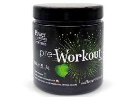 POWER OF NATURE SPORT SERIES PRE-WORKOUT FORMULA 250gr
