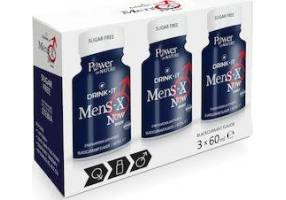 Power Health Drink It Mens-X NOW Dietary Supplement for Erectile Dysfunction, 3 x 60ml