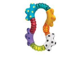 Nuk Playgro Click and Twist Rattle 3m + 1pcs
