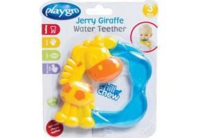 Playgro - Jerry Giraffe Water Teether 3m+ Κρίκος Οδοντοφυϊας - 1τμχ