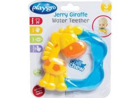Playgro - Jerry Giraffe Water Teether 3m + Teething Ring - 1pcs
