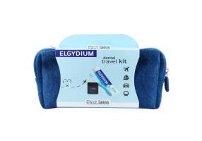 Elgydium Dental Travel Kit με Elgydium Pocket Οδοντόβουρτσα Ταξιδίου, 1 τεμάχιο,