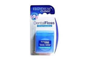 Elgydium Clinic Dental Floss Chlorhexidine Waxed, 50m