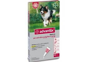 Bayer Advantix for dogs from 10kg to 25kg (1 pipette)