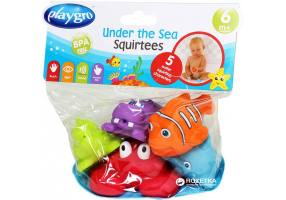 Playgro Under The Sea Squirtees Ζωάκια που Γεμίζουν Νερό και Πιτσιλάνε 6m+ 5 Τμχ.