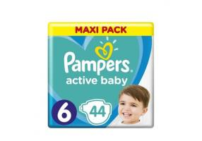 PAMPERS ACTIVE BABY DRY N6 42 PCS