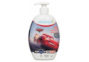 Helenvita Kids Cars 2 in 1 Shampoo & Shower Gel, Ήπιο Σαμπουάν & Αφρόλουτρο, 500ml