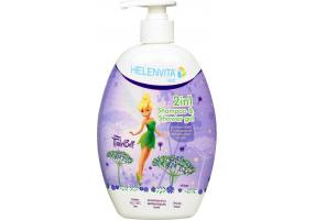 Helenvita Kids TinkerBell 2 in 1 Shampoo & Shower Gel, Ήπιο Σαμπουάν & Αφρόλουτρο, 500ml