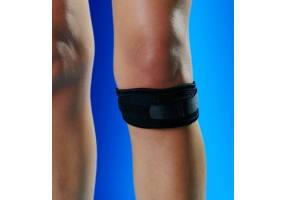 ANATOMICHELP 1510 KNEE SUPPORT BANDAGE WITH SILICON PAD ONE SIZE, BLUE