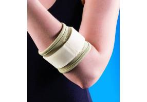 ANATOMICHELP 0069 TENNIS ELBOW SUPPORT WITH PAD ONE SIZE, BEIGE