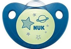 Nuk Night & Day Silicone Soother Glowing In The Dark 0-6m 1pcs