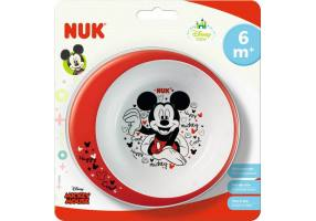 NUK Disney Mickey Food Education Bowl 6m +, 1pcs (80,890,771)