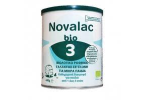 Novalac Bio 3 Βιολογικό Ρόφημα Γάλακτος σε Σκόνη για Μικρά Παιδιά από 1 ως 3 ετών, 400g