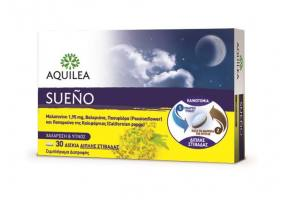 Aquilea Sueno Supplement for Relaxation & Sleep, 30 tablets