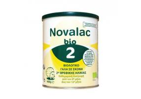 Novalac Bio 2 Organic Milk in 2nd Infant Powder from 6th to 12th Month, 400g