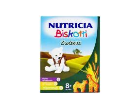 Nutricia Biskotti 8m + Animals Baby Biscuits, 180gr