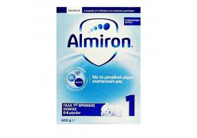 Nutricia Almiron 1 Infant Milk 0-6 Months, 600g
