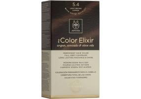 Apivita My Color Elixir Permanent Hair Dye No Apivita My Color Elixir Permanent Hair Dye 5.4 Brown Light Bronze, 1 piece