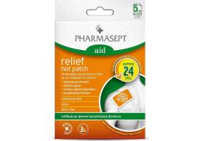 Pharmasept Aid Relief Hot Patch Φυσικό Επίθεμα κατά του Πόνου, 1 τεμάχιο