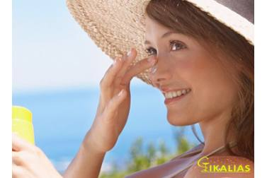 How do we stimulate our skin in the summer on face and neck