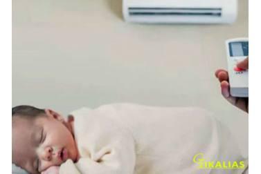 Κλιματιστικά συστήματα air condition και μωρά